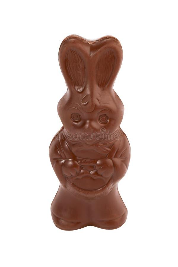 Chocolate de la dimensión de una variable del conejito foto de archivo libre de regalías