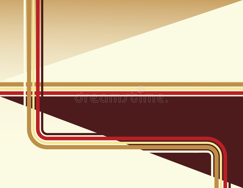 Chocolate Deco stock illustration