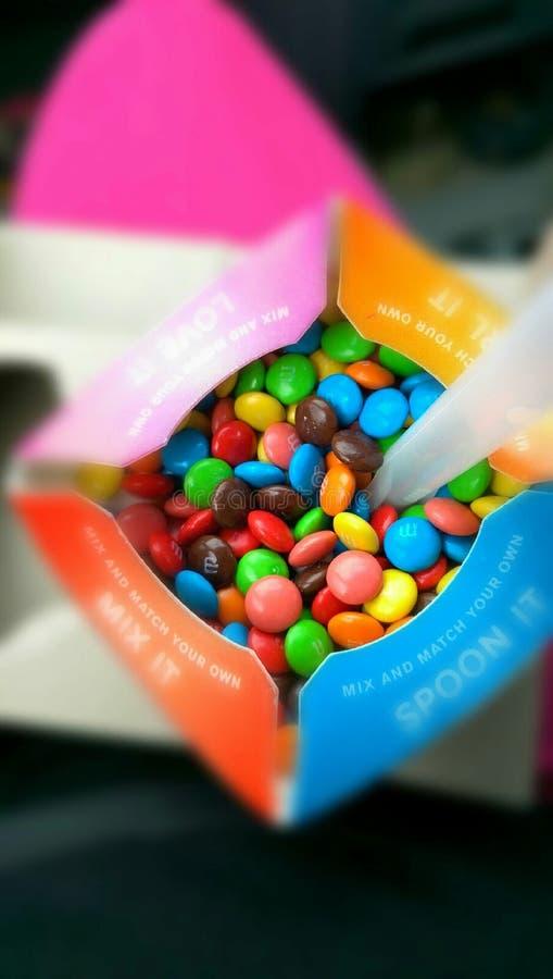 Chocolate del color imágenes de archivo libres de regalías