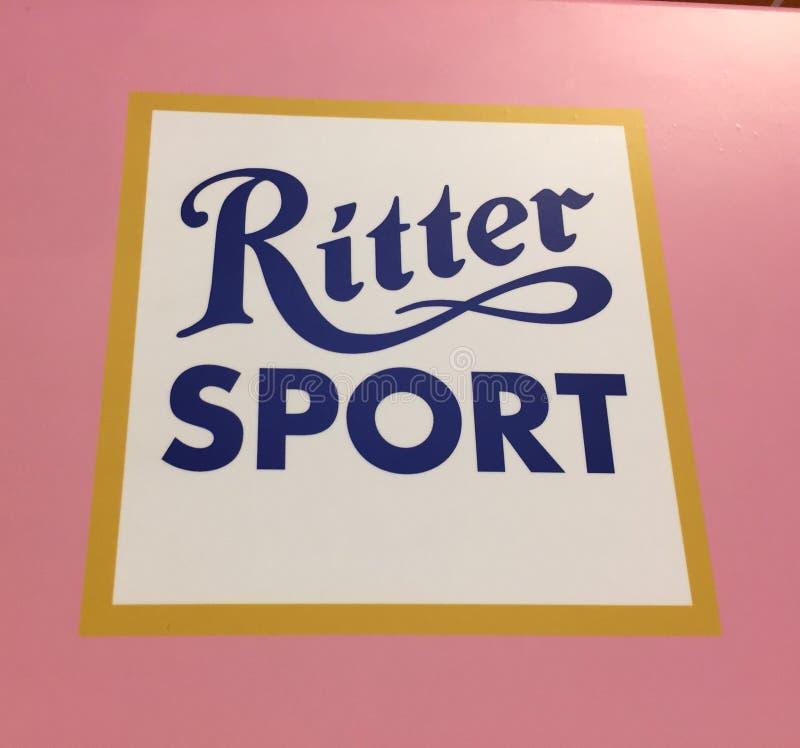 Chocolate del deporte de Ritter fotografía de archivo libre de regalías