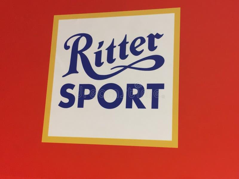 Chocolate del deporte de Ritter foto de archivo libre de regalías