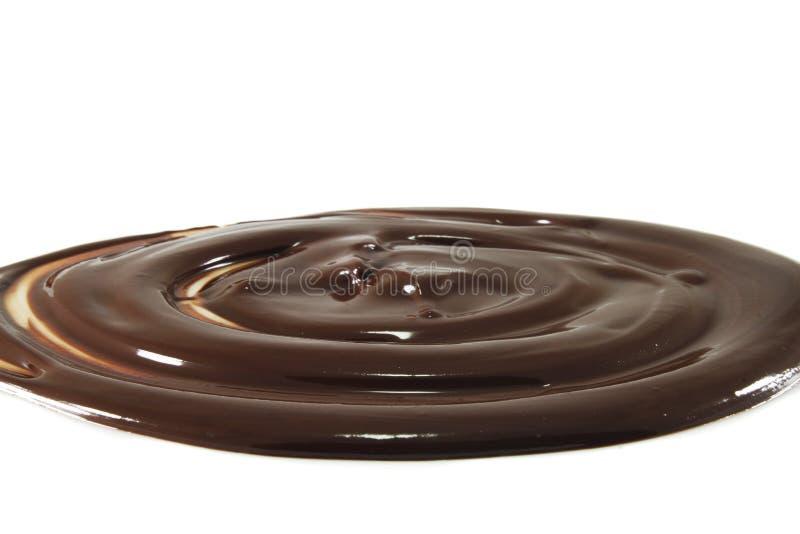 Chocolate derretido imagem de stock royalty free