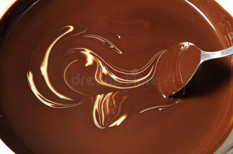 Chocolate derretido foto de stock royalty free