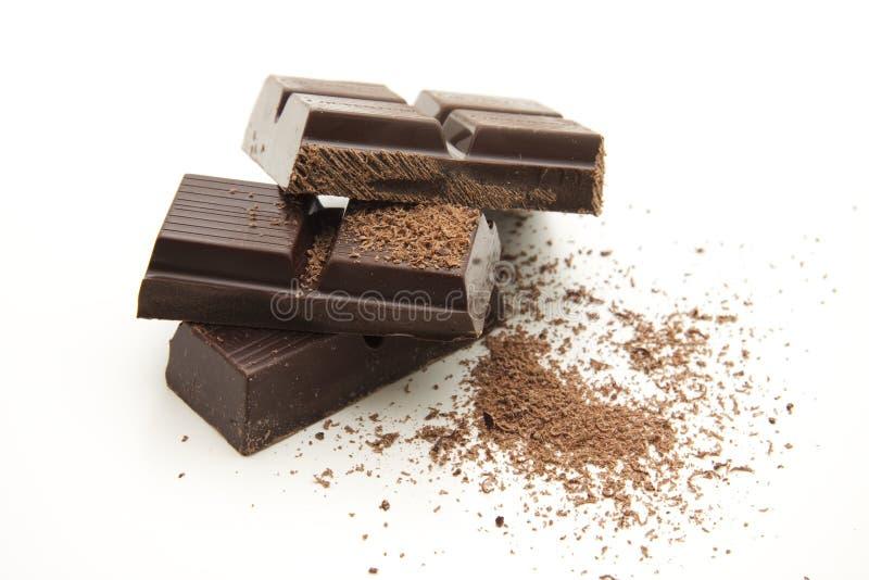Chocolate desgastado fotografía de archivo