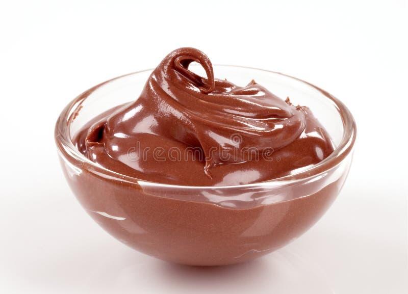 Chocolate dessert stock photos