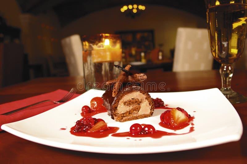 Chocolate Dessert Free Stock Image