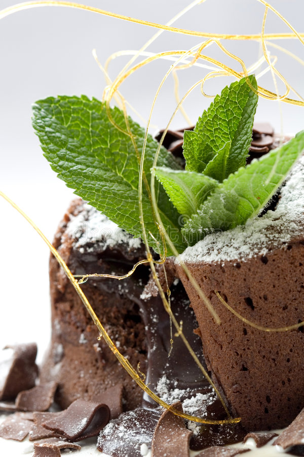 Download Chocolate dessert stock photo. Image of dish, closeup - 2312474