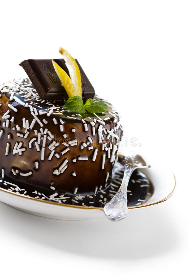Download Chocolate dessert stock image. Image of dessert, calories - 23875577