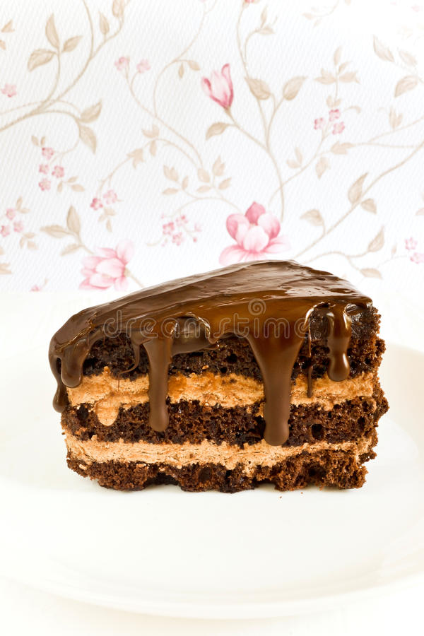 Chocolate dessert royalty free stock image