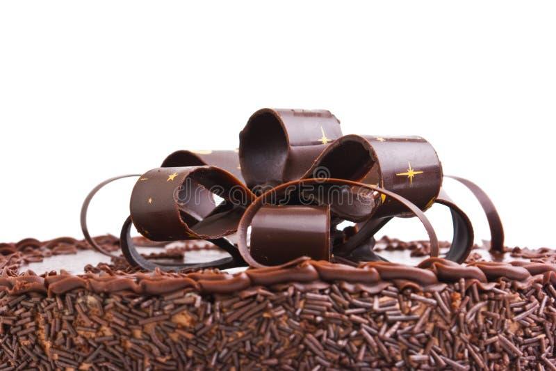 Chocolate do bolo imagens de stock royalty free