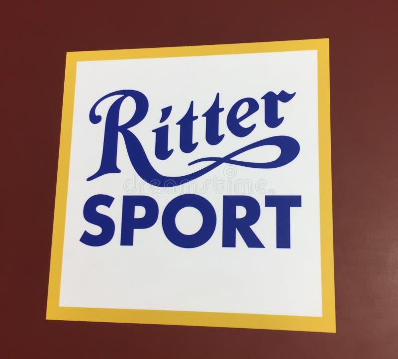 Chocolate do esporte de Ritter fotografia de stock royalty free