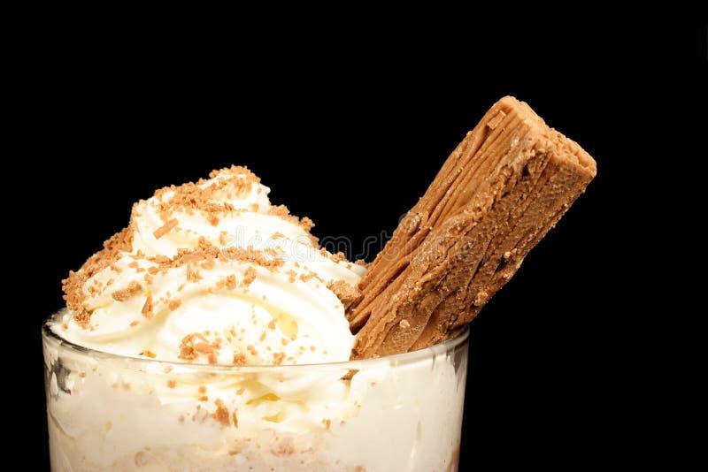 Chocolate do gelo fotos de stock