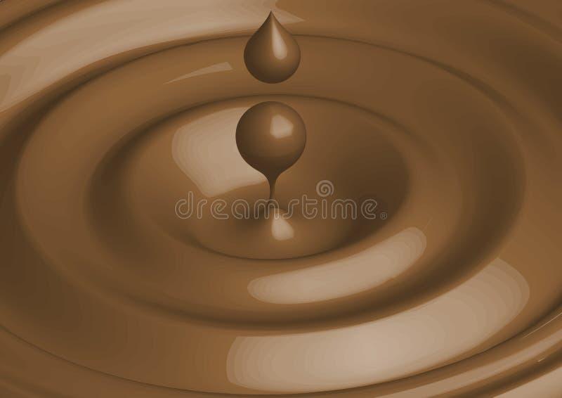 Chocolate do vetor ilustração royalty free