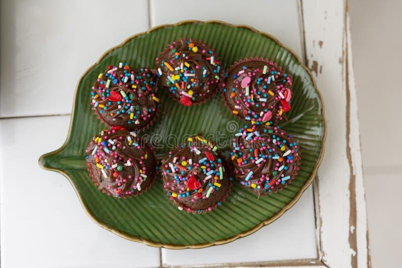 Chocolate doce Brigadeiro imagem de stock royalty free