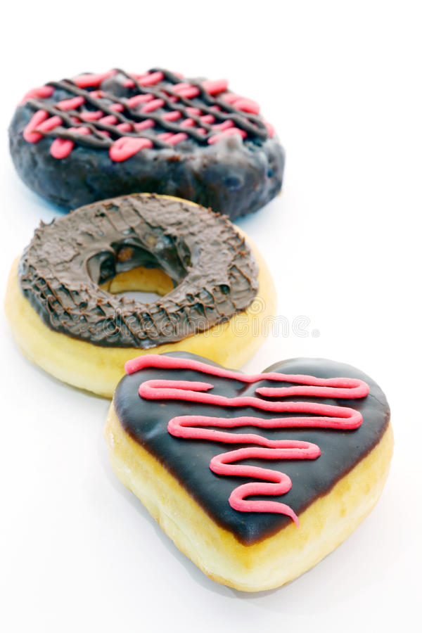 Download Chocolate donut stock photo. Image of objects, sweet - 24619178