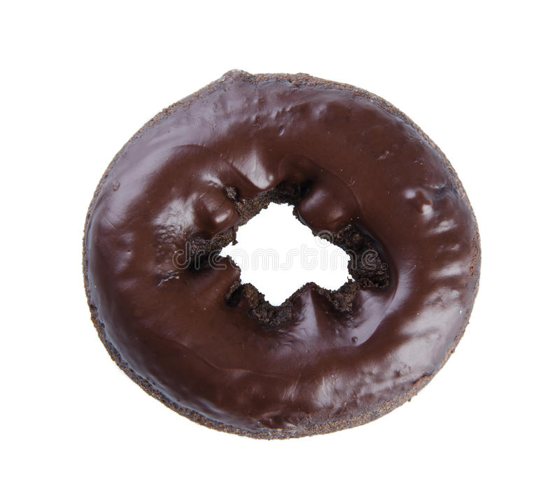 Download Chocolate Donuts On A Background Royalty Free Stock Images - Image: 27547319
