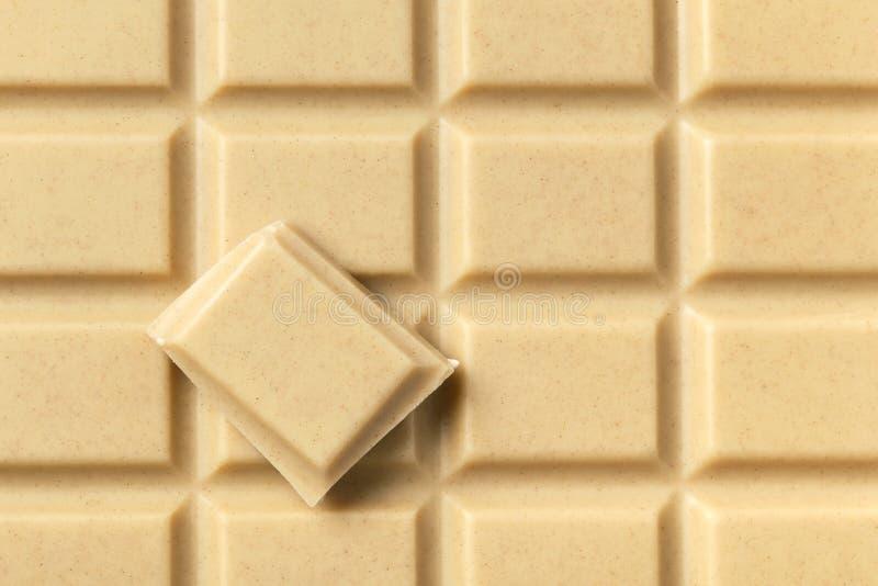 Chocolate e parte brancos imagens de stock royalty free