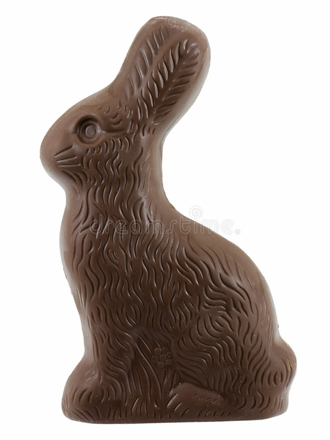 Download Chocolate Easter Bunny stock photo. Image of holiday, sweets - 4427860