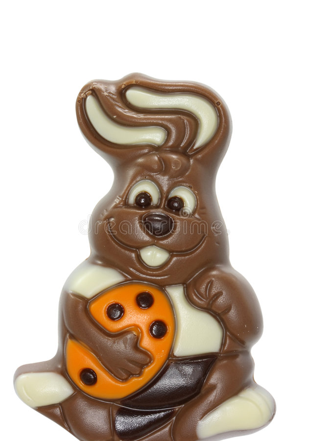 Download Chocolate easter bunny stock image. Image of holiday, white - 4496633