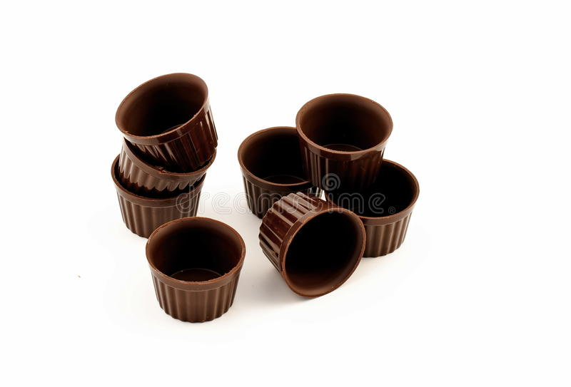 Download Chocolate edible cup stock photo. Image of black, edible - 24252560