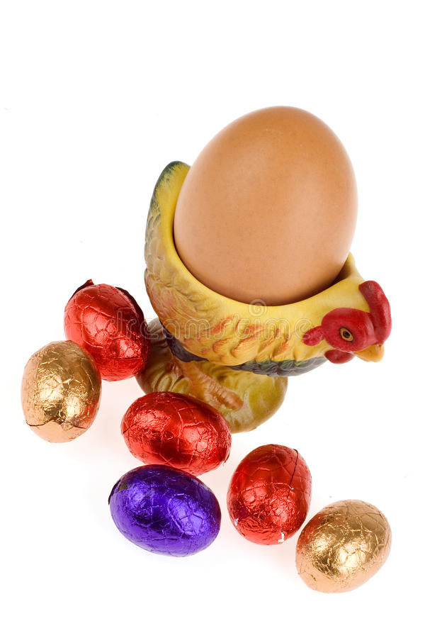 Download Chocolate egg stock image. Image of lunch, calorie, dinner - 13373271