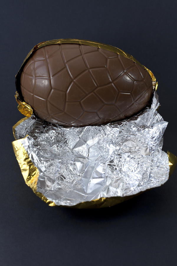 Chocolate Egg Royalty Free Stock Photography