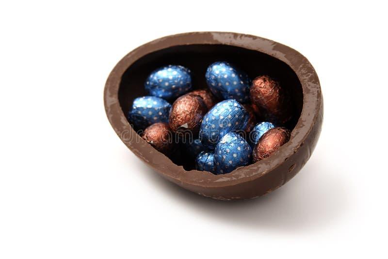 Download Chocolate Eggs stock image. Image of season, white, holiday - 29178167