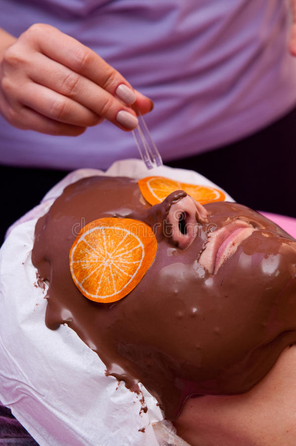 Download Chocolate Face Mask Royalty Free Stock Photo - Image: 26702215