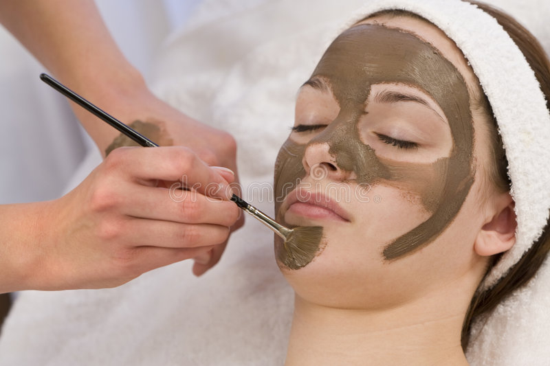 Download Chocolate Face Mask stock photo. Image of relax, face - 6313832