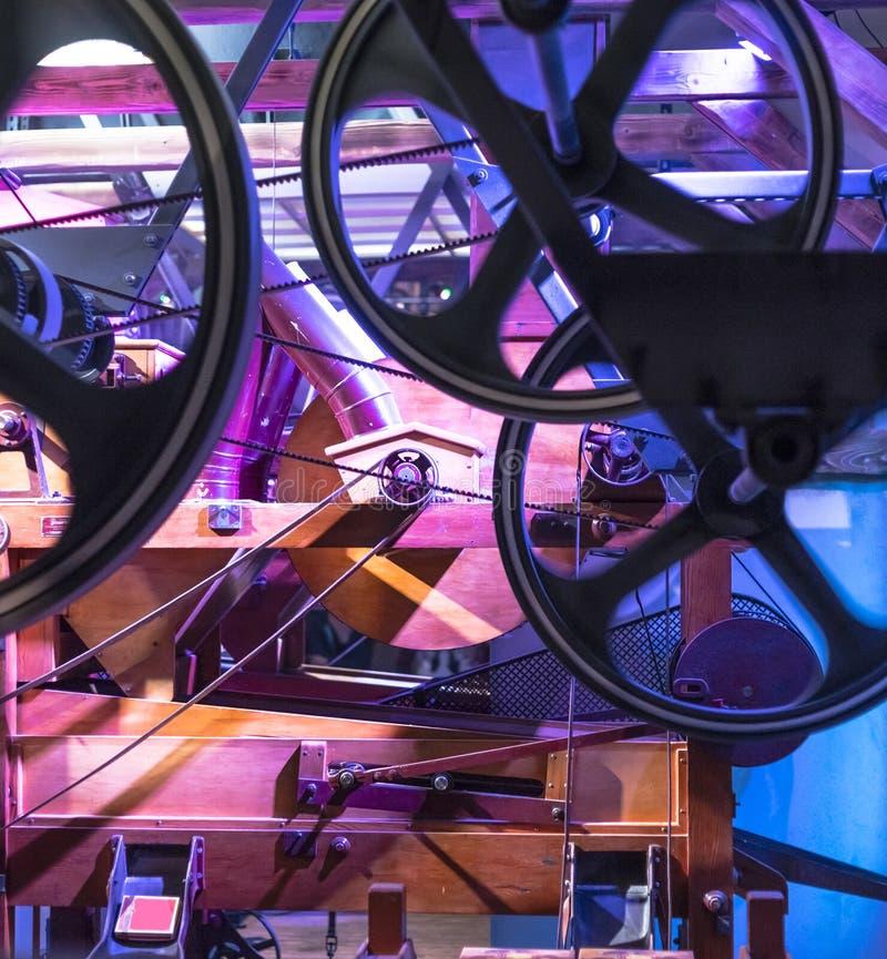 Chocolate Factory,machine museum stock photos