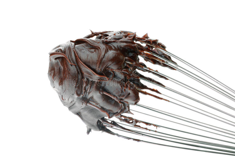 Chocolate Frosting stock photo