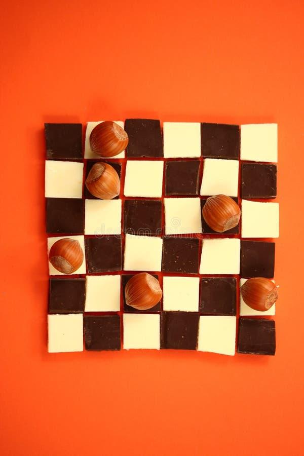 Chocolate Game I stock photography