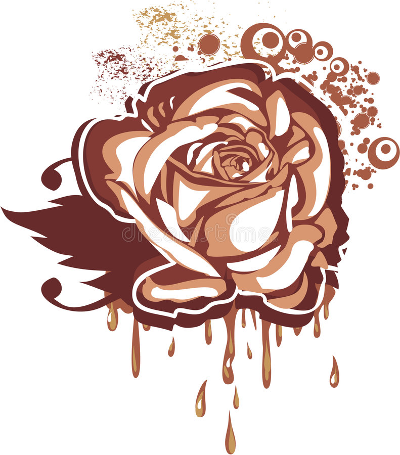 Chocolate gastrónomo ilustración del vector