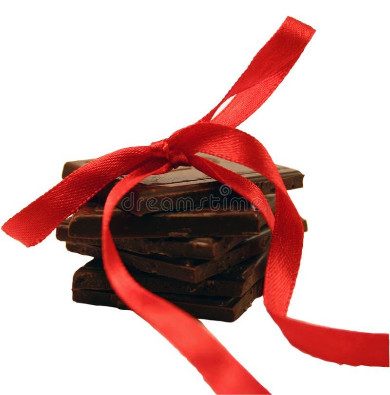 Chocolate gift royalty free stock photos