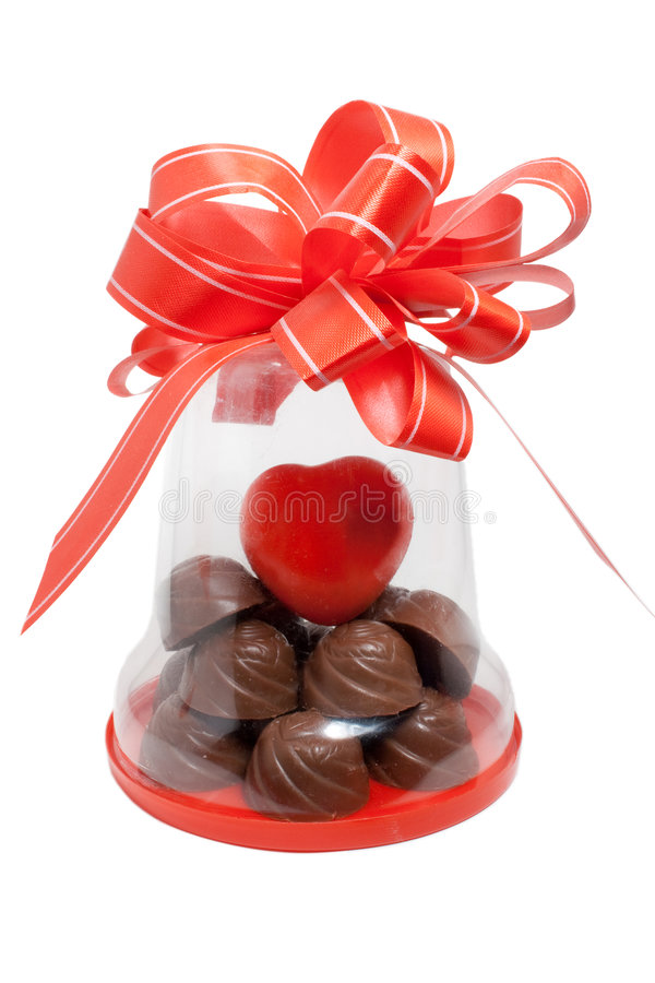 Free Chocolate Gift Royalty Free Stock Photography - 7914257