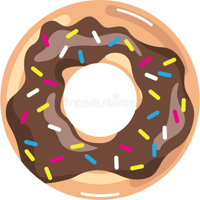 chocolate glazed donut stock vector illustration of cream 67449653 rh dreamstime com eps clip art free eps clipart of texas