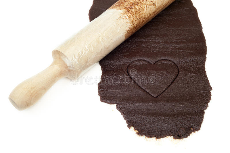 Download Chocolate heart stock photo. Image of dessert, ingredient - 25926160