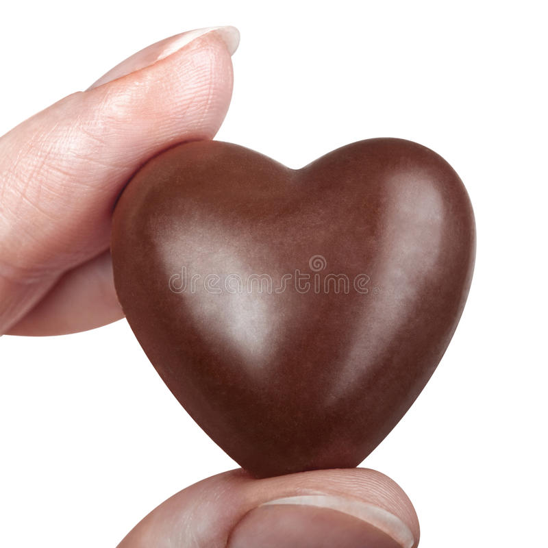 Free Chocolate Heart Stock Photos - 28995453
