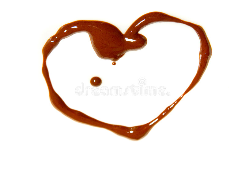 Download Chocolate Heart Royalty Free Stock Photo - Image: 7663715