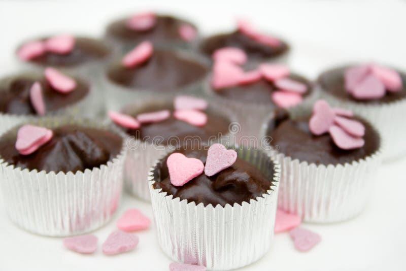 Chocolate hecho en casa imagenes de archivo