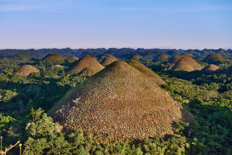 Download Chocolate Hills Bohol Philippines Stock Image - Image of asia, landscapes: 71854353