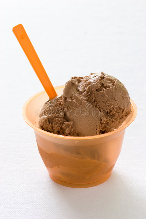 Chocolate Ice cream royalty free stock photo
