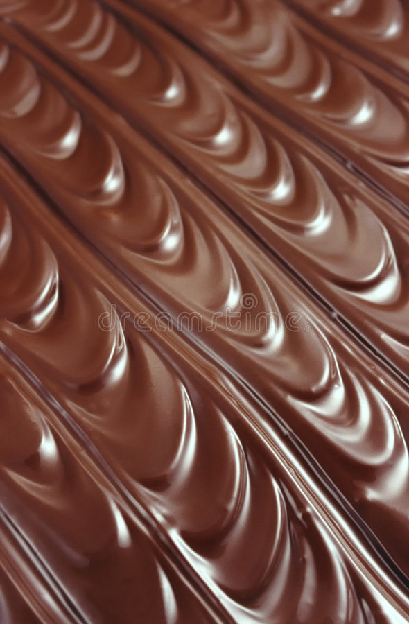 Chocolate icing - background. An image of chocolate icing - background royalty free stock photography