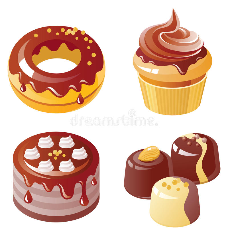 Chocolate Icon Set