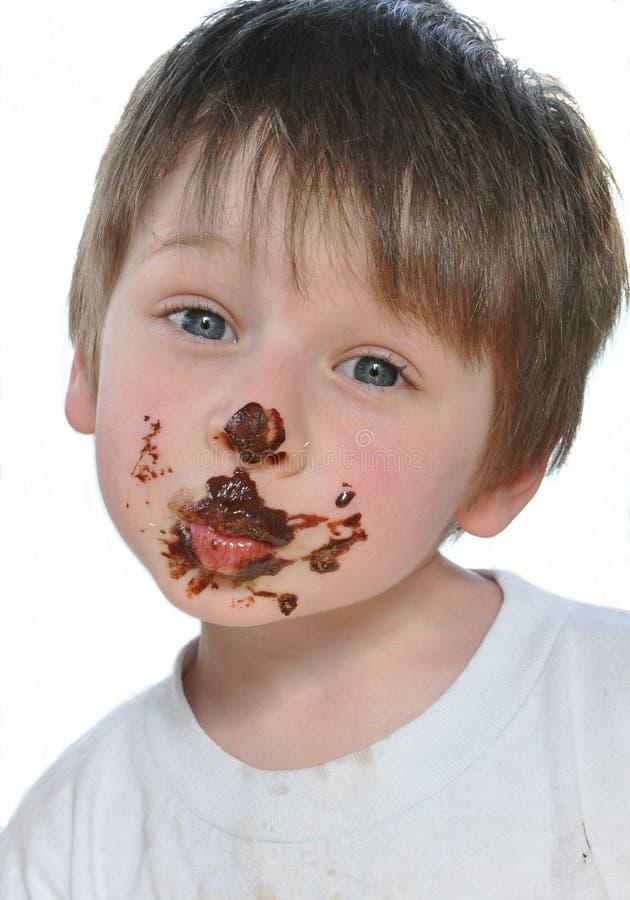 Chocolate kisses stock image