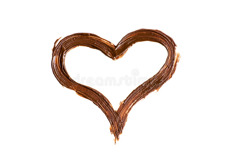 Chocolate love message