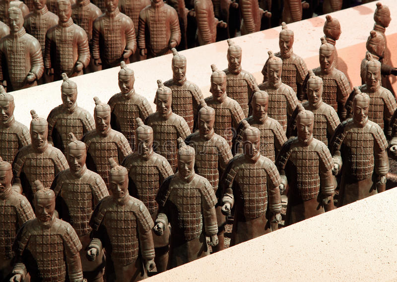 Download Chocolate-made Terra-cotta Warriors Editorial Photo - Image: 12777626