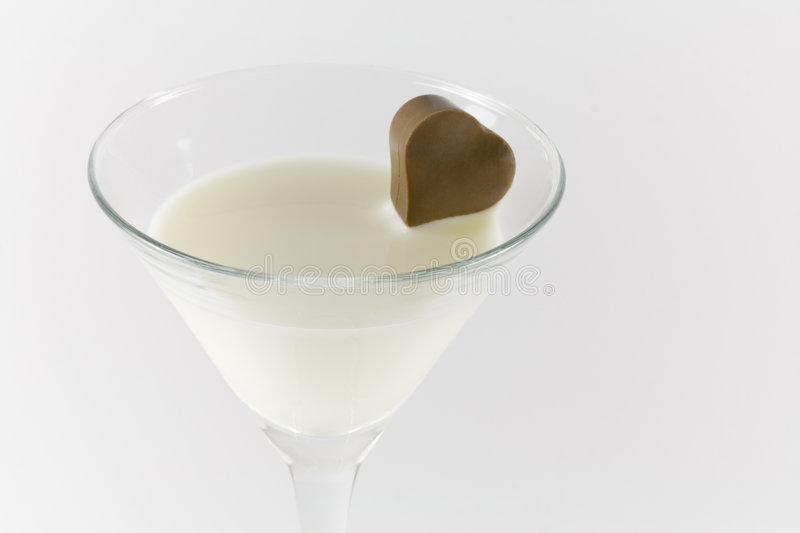 Chocolate Martini royalty free stock photography