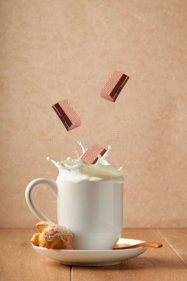 Download Chocolate Milk Splash stock photo. Image of drink, milk - 23691206