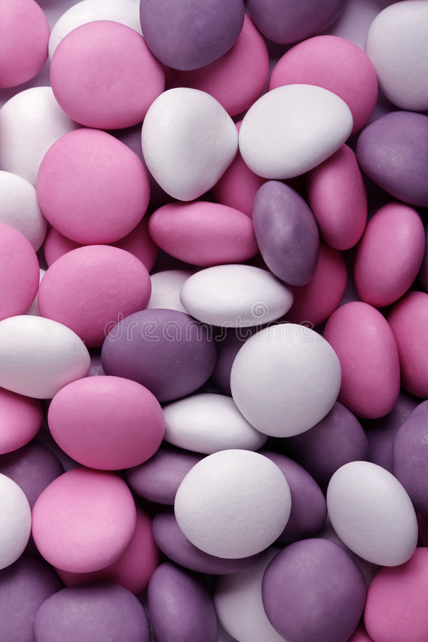 Chocolate mints royalty free stock photography